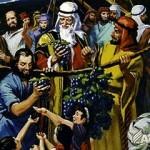 Josue e Calebe cacho de uvas
