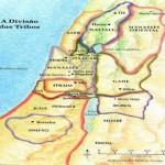 Mapa das 12 tribos